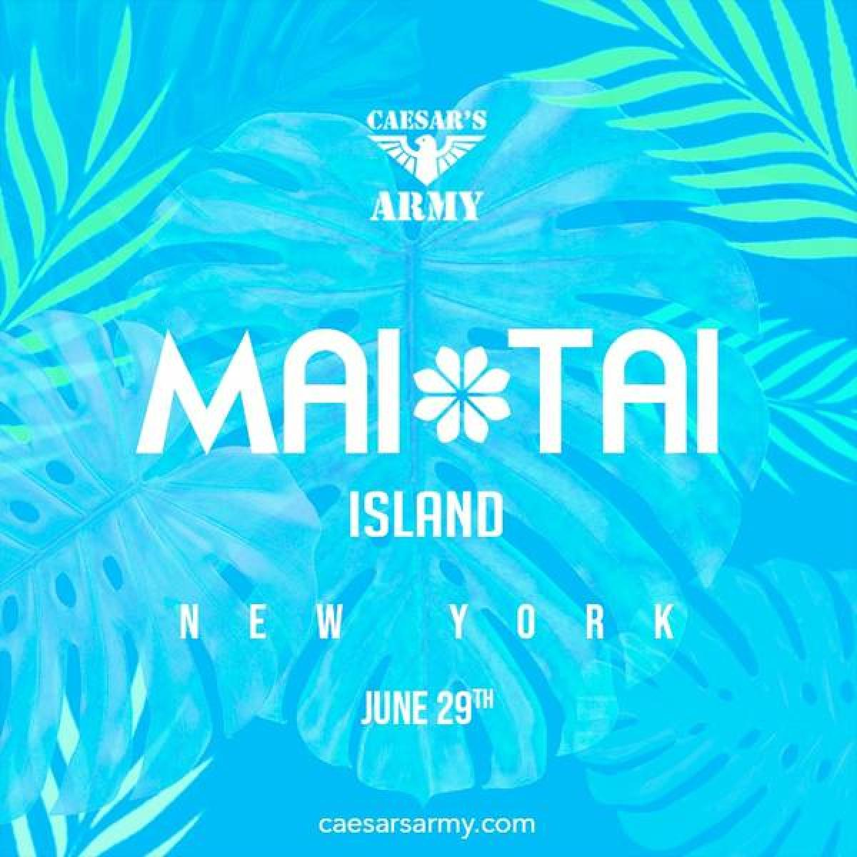 Mai Tai Island New York flyer or graphic.