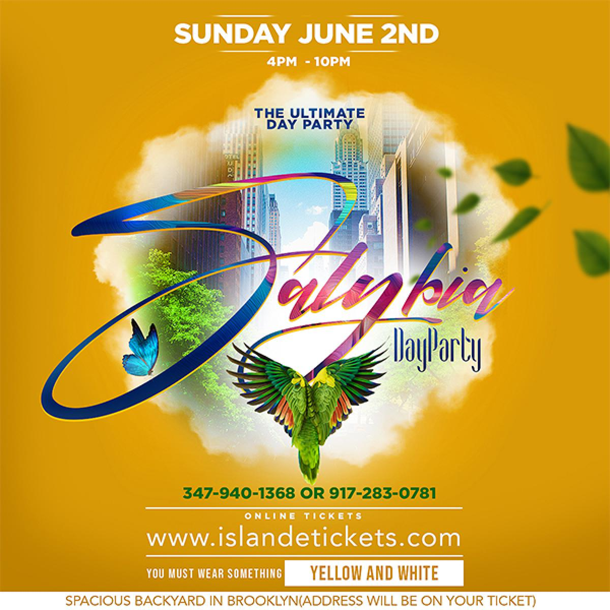 SALYBIA Day Party flyer or graphic.