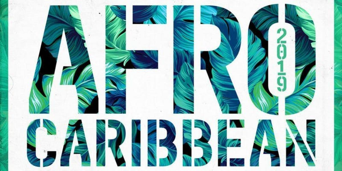 Afro Caribbean 2K19 flyer or graphic.