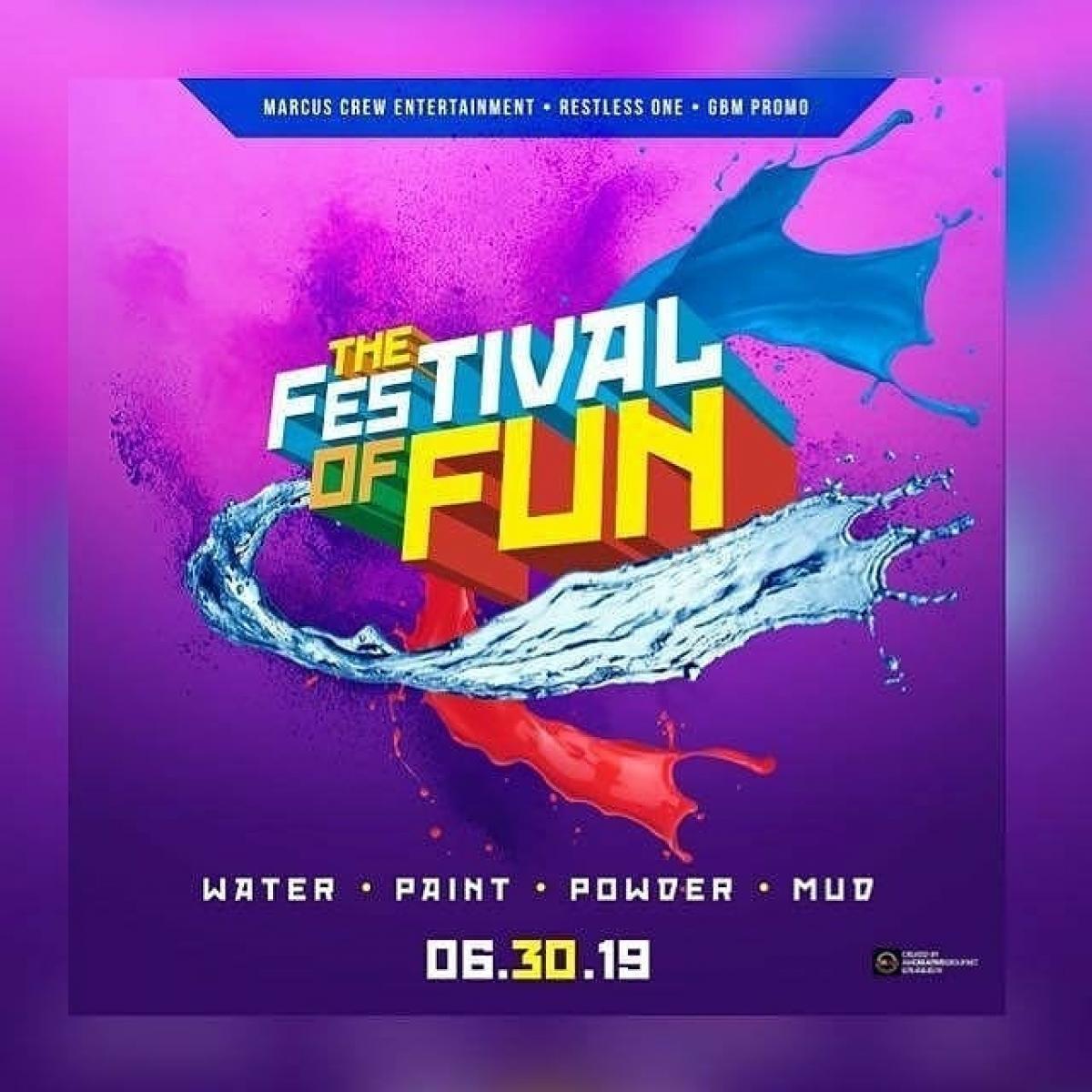The Festival of Fun (MIzWe / Moksha) flyer or graphic.
