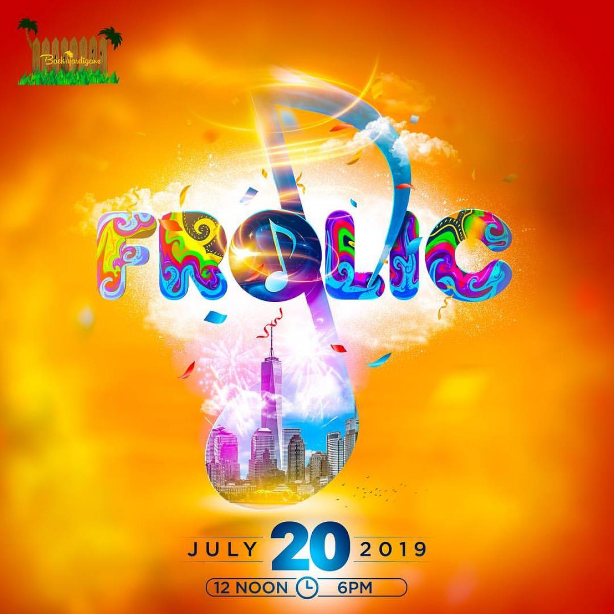 Frolic flyer or graphic.