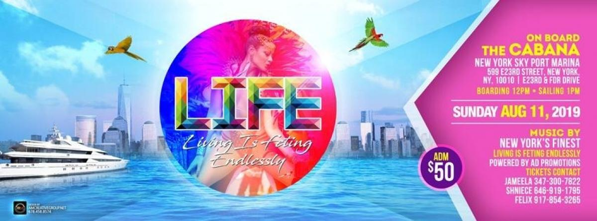 LIFE on The Water flyer or graphic.