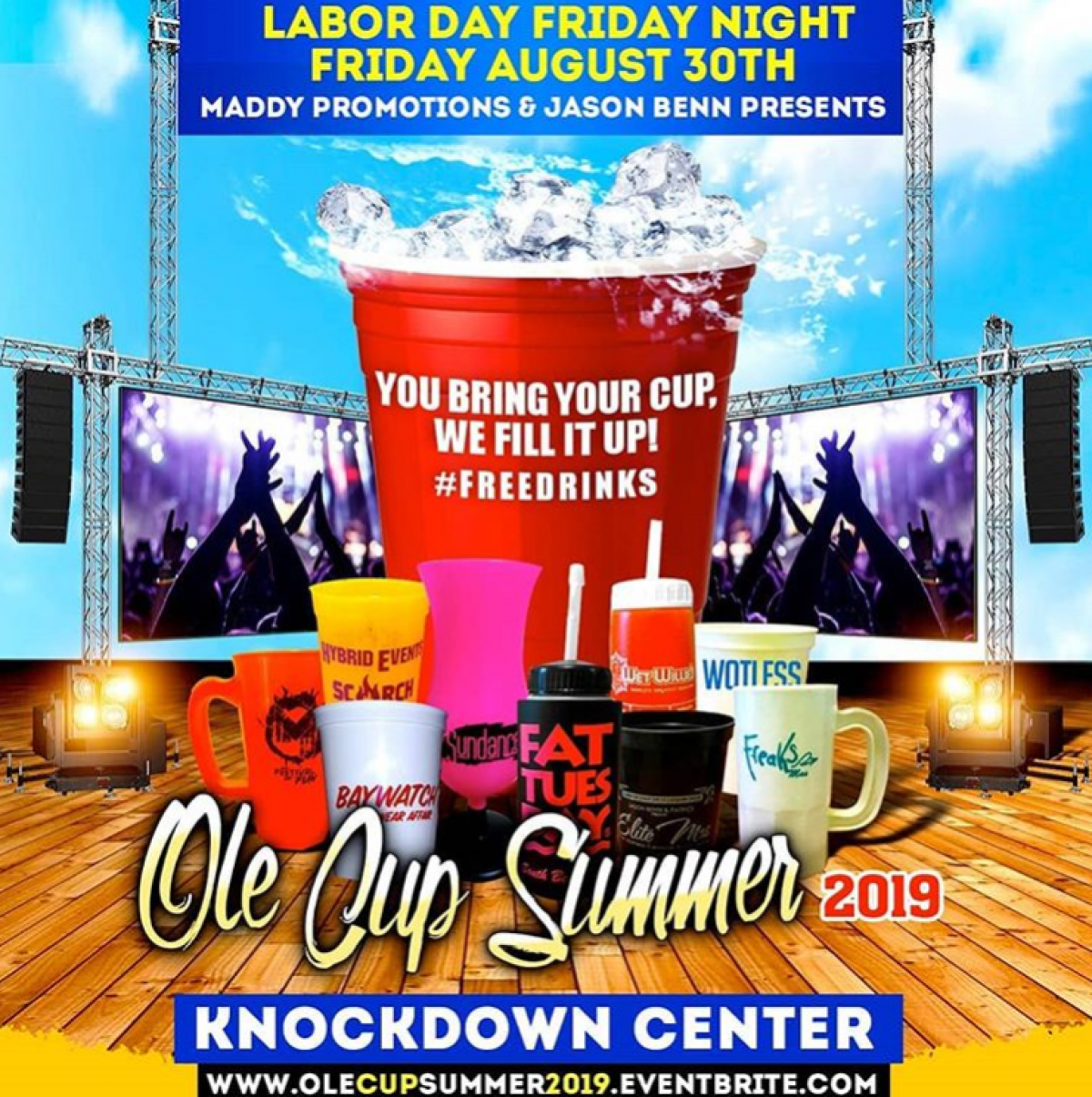 Ole Cup Summer flyer or graphic.
