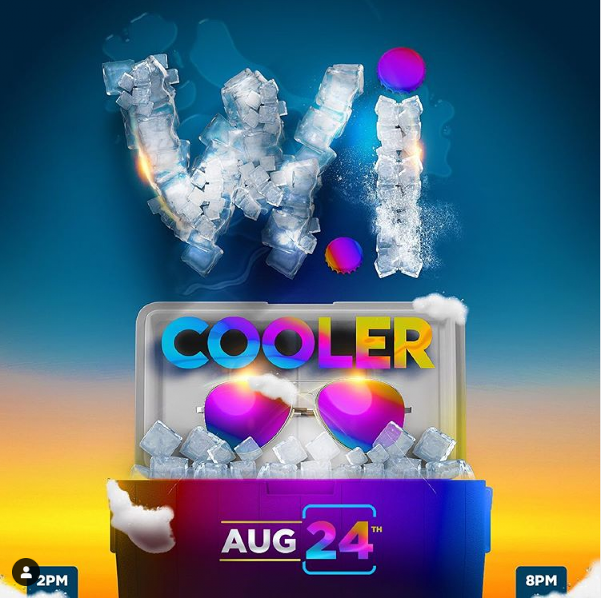 """""""WiCooler"""" Fete 2019 flyer or graphic."""