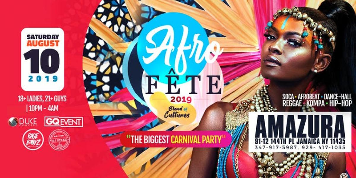 Afro Fete flyer or graphic.