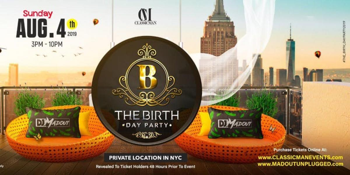 The Birth-Day Party (DJ MadOut) flyer or graphic.