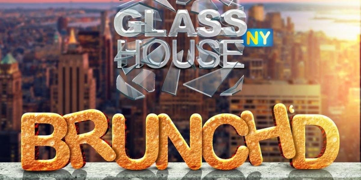 GlassHouse NYC Brunch'd flyer or graphic.