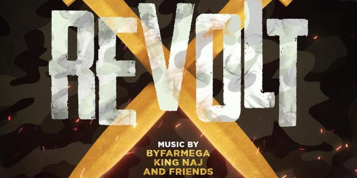 Revolt flyer or graphic.