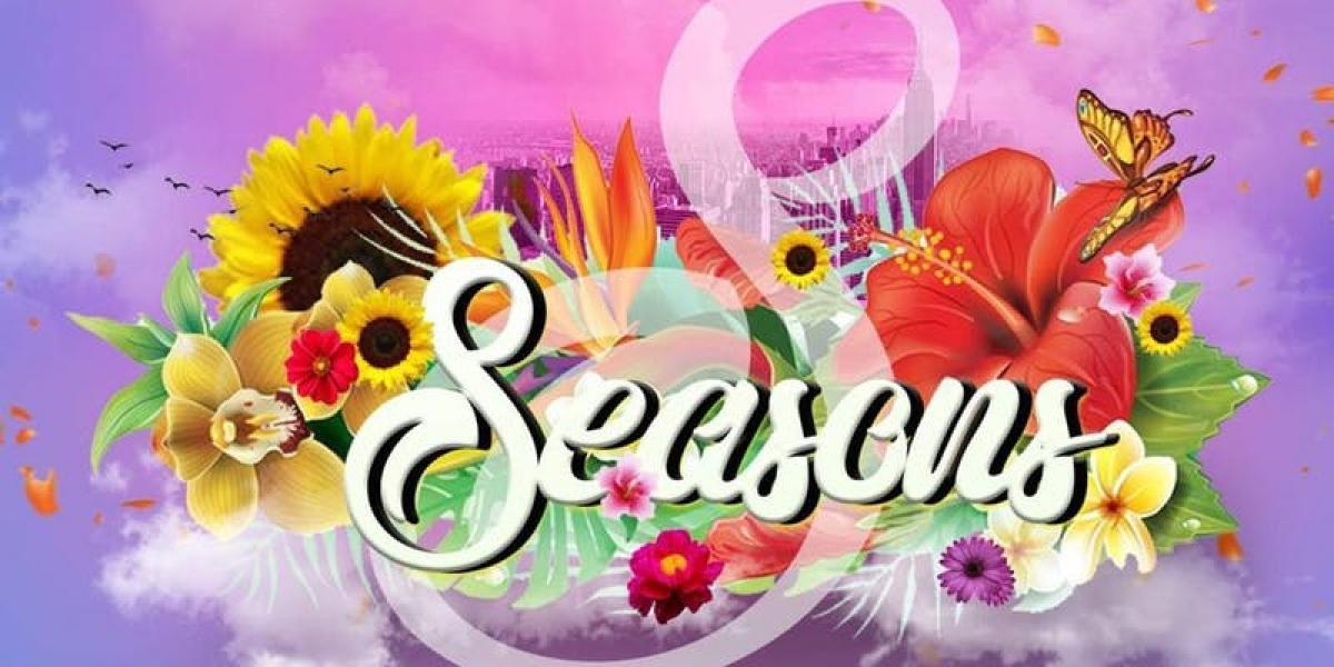 Seasons flyer or graphic.