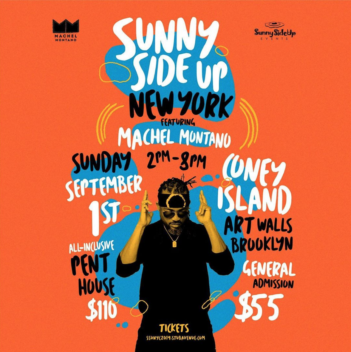 Sunny Side Up New York flyer or graphic.