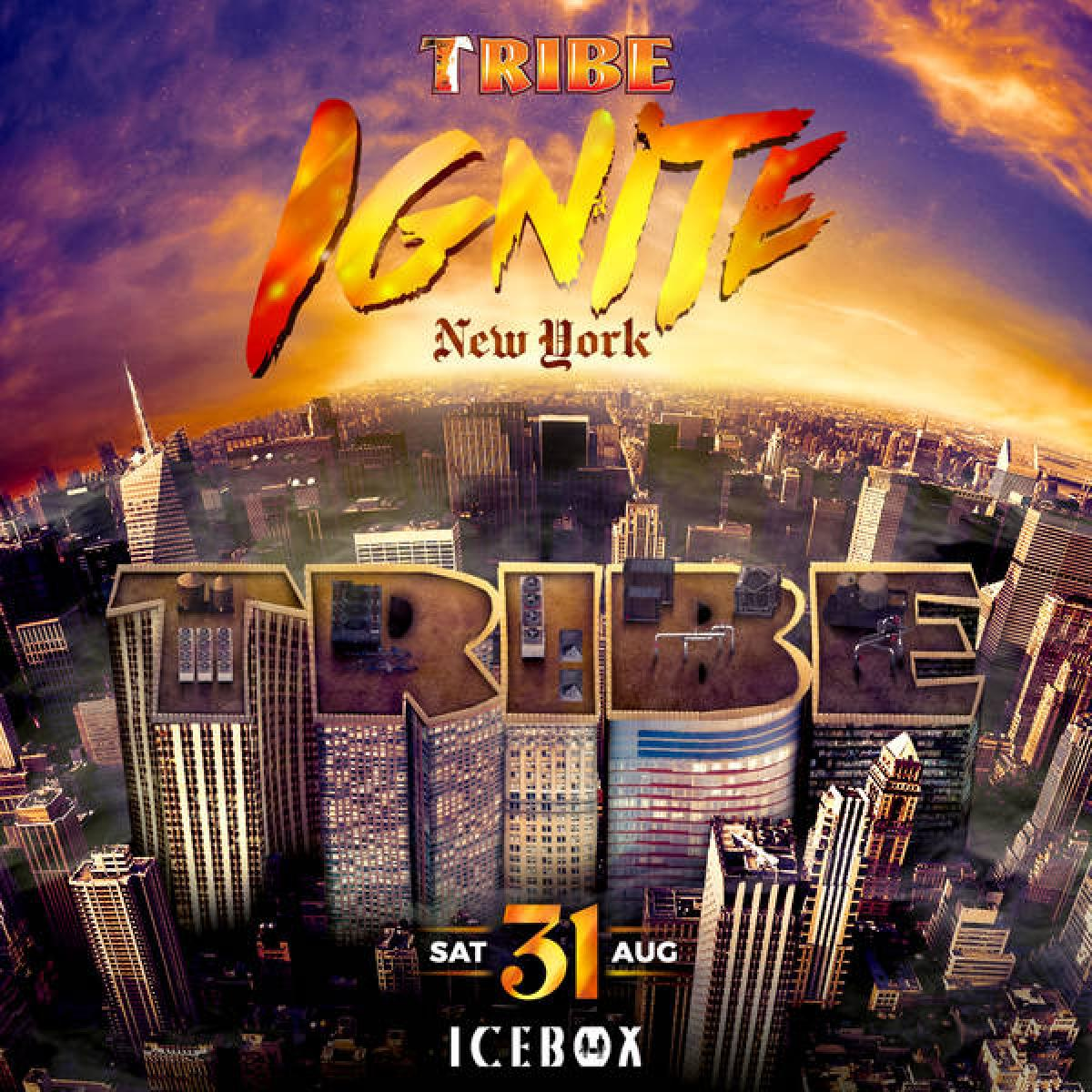 TRIBE Ignite New York flyer or graphic.