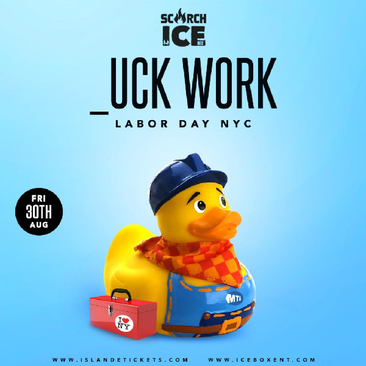 _UCK WORK  flyer or graphic.