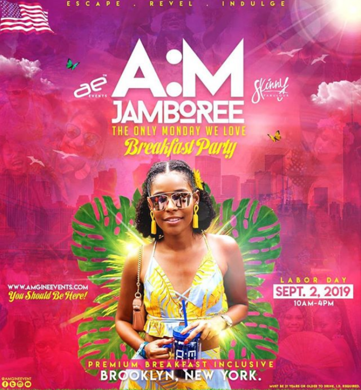 A:M Jamboree flyer or graphic.