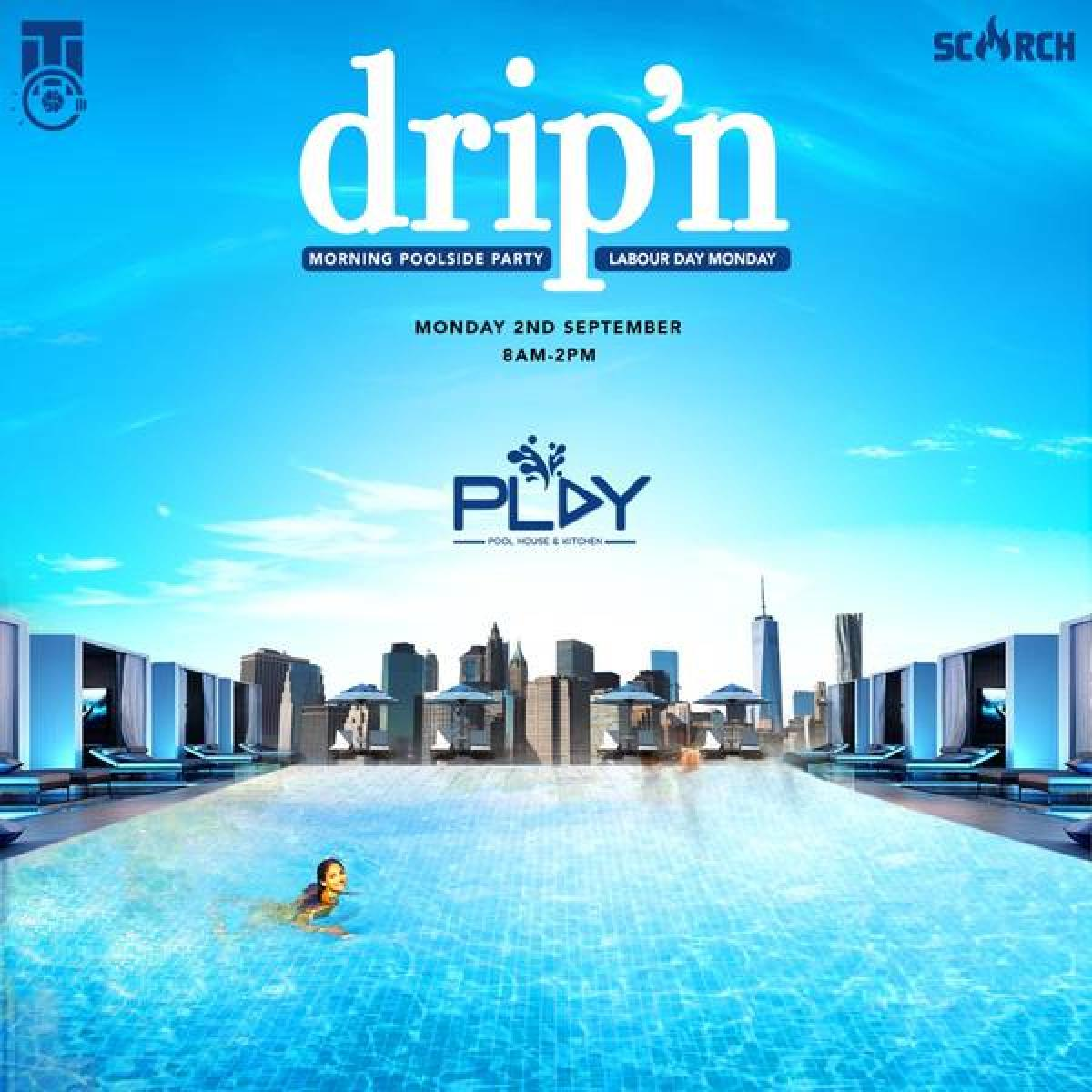 drip'n flyer or graphic.