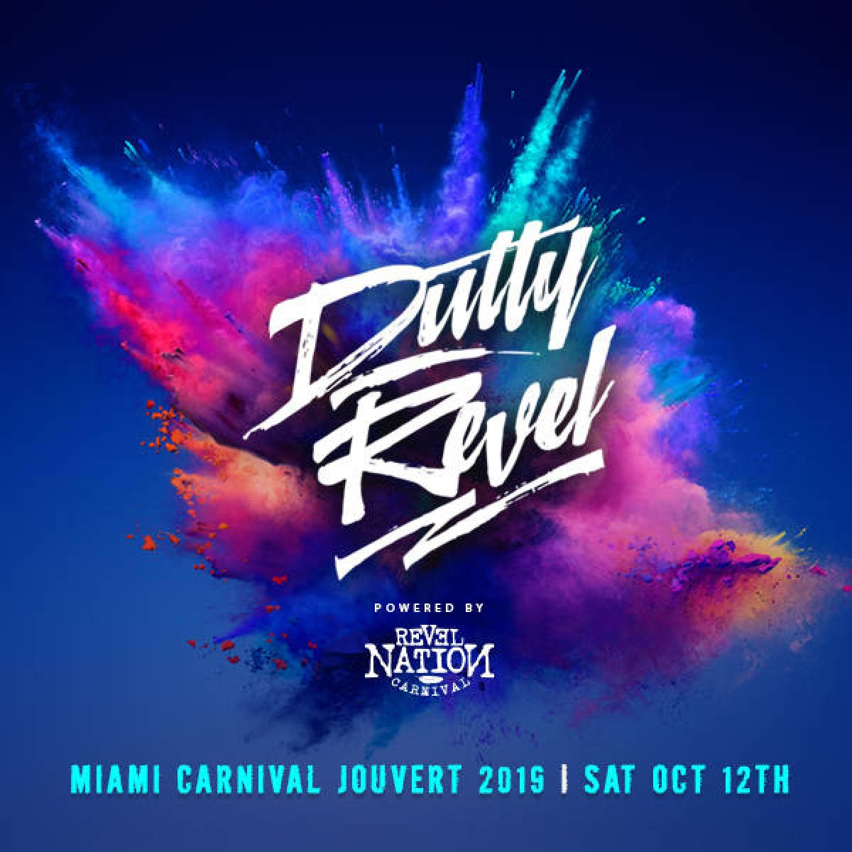 Dutty Revel flyer or graphic.