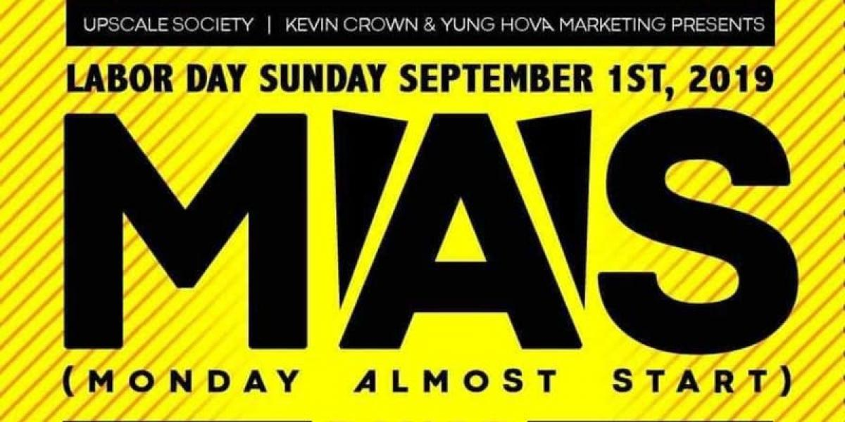 MAS flyer or graphic.