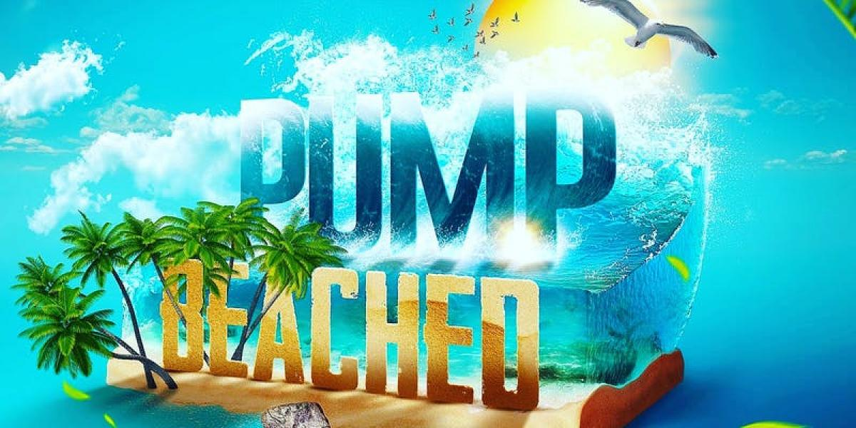 Pumpnation Beached flyer or graphic.