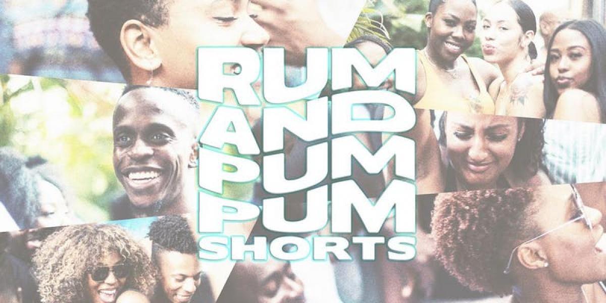 Rum + Pum Pum Shorts flyer or graphic.