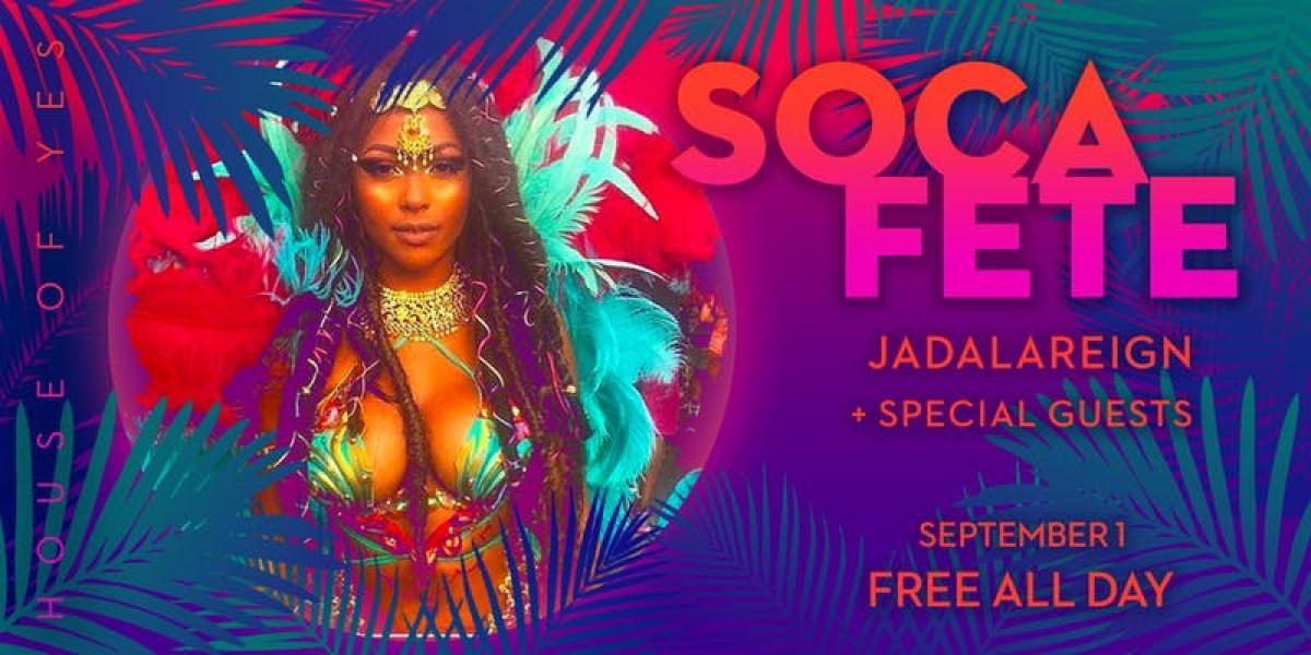 Soca Fete flyer or graphic.