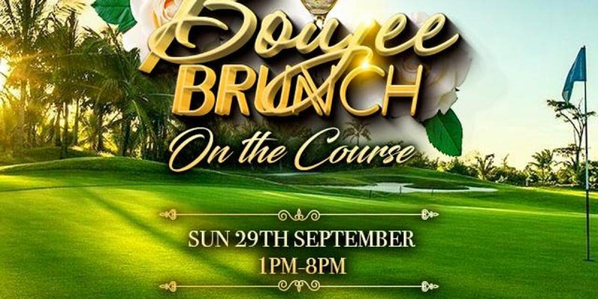 Boujee Brunch flyer or graphic.