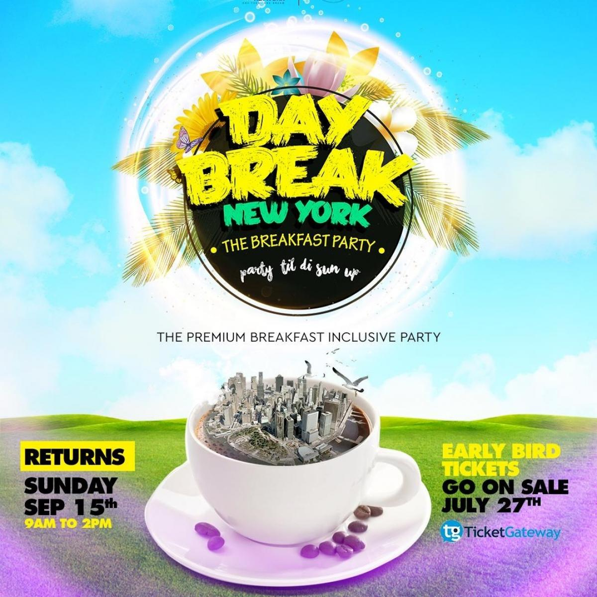 Day Break flyer or graphic.
