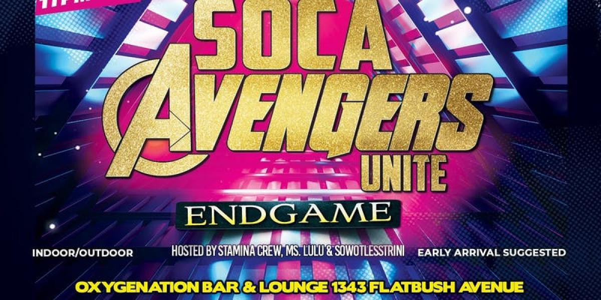 Endgame flyer or graphic.
