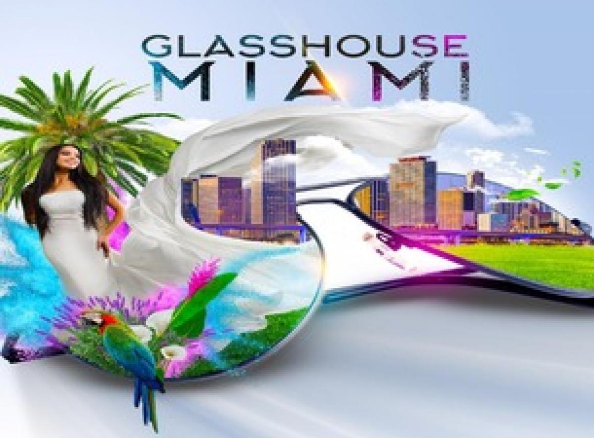 Glasshouse Miami flyer or graphic.