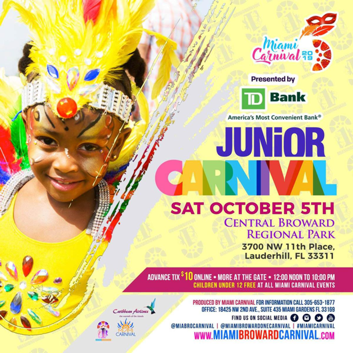 Junior Carnival flyer or graphic.