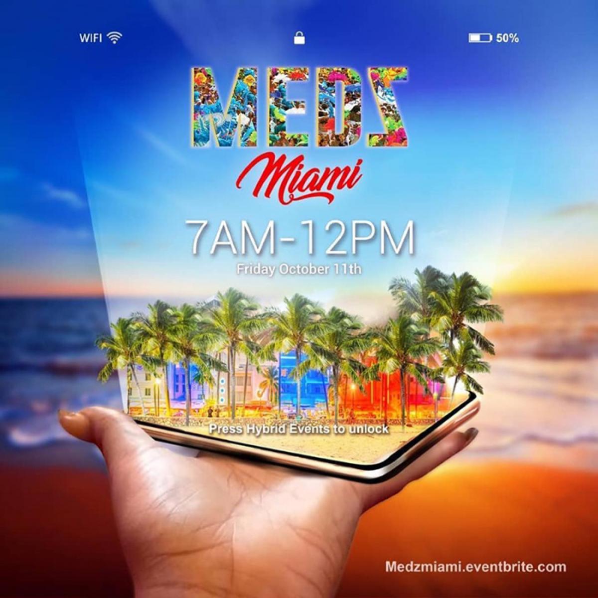 MEDZ flyer or graphic.