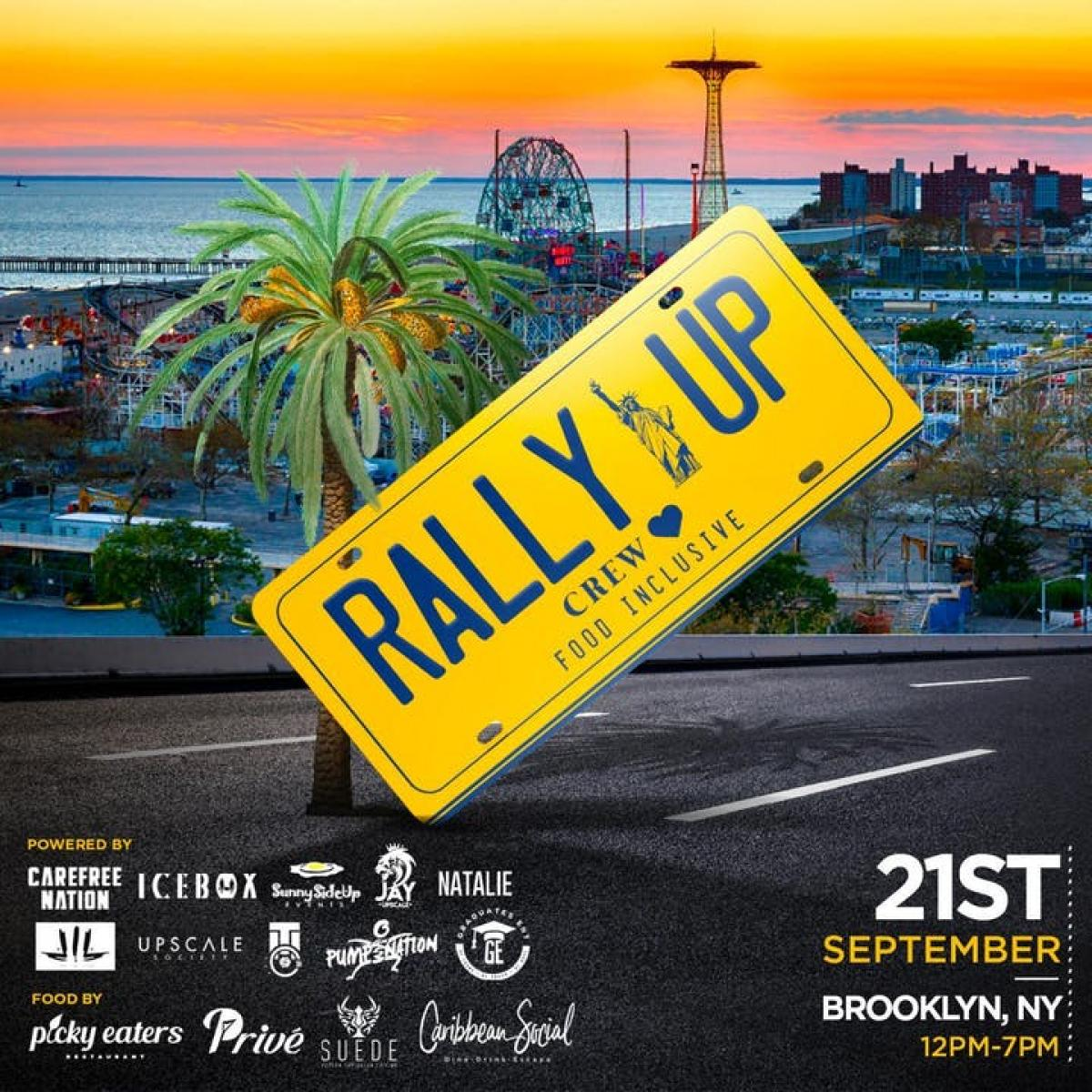 Rally Up flyer or graphic.