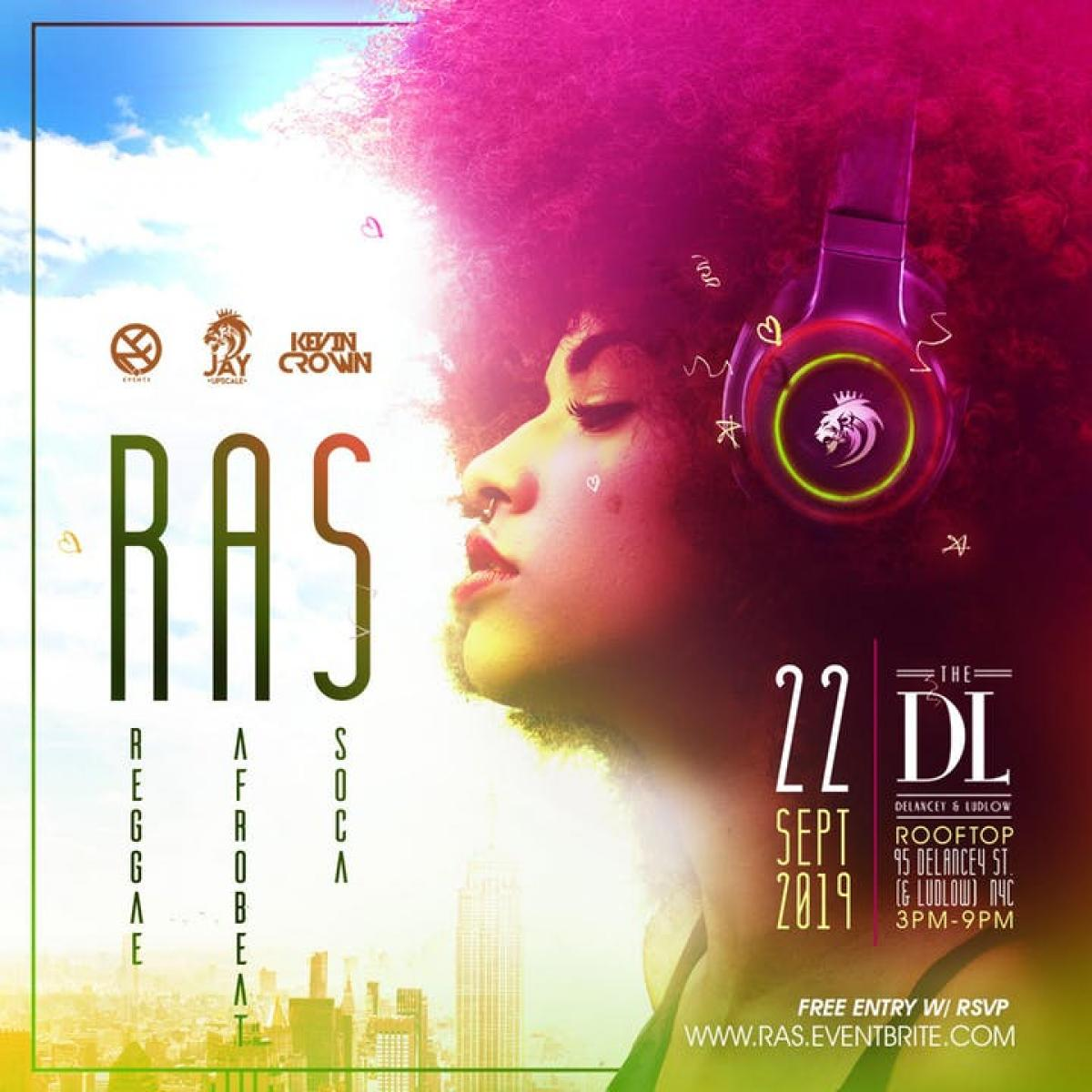 Ras flyer or graphic.