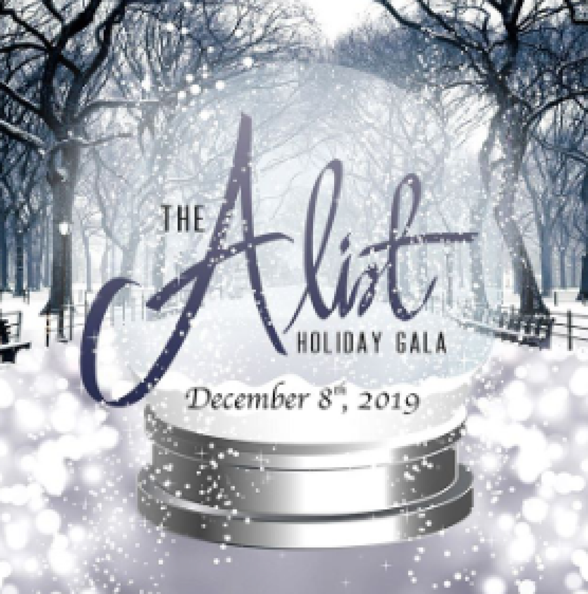 The A List flyer or graphic.