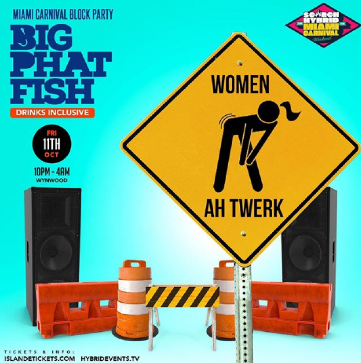 Big Phat Block Party flyer or graphic.