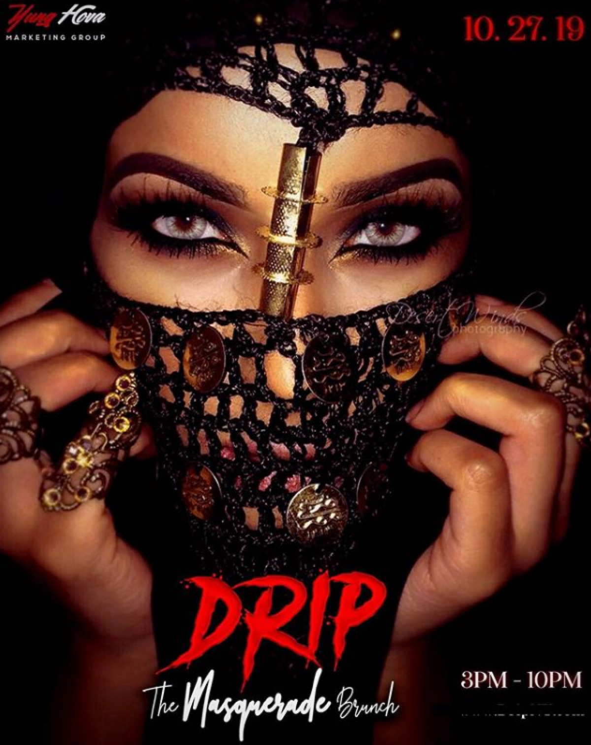 Drip flyer or graphic.