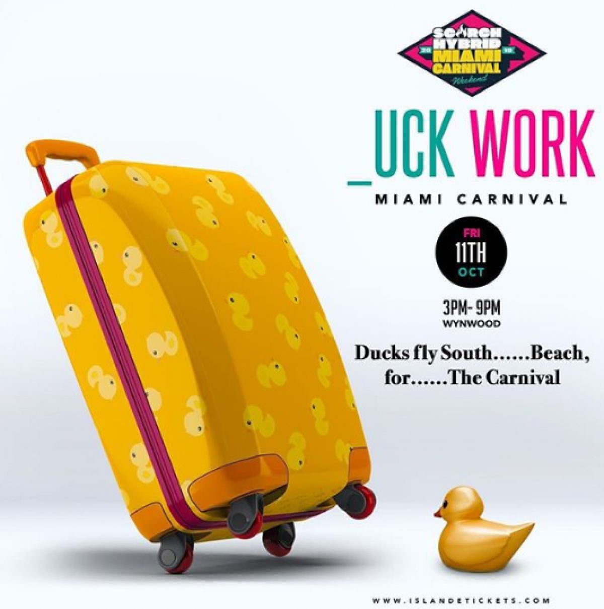 Duck Work flyer or graphic.
