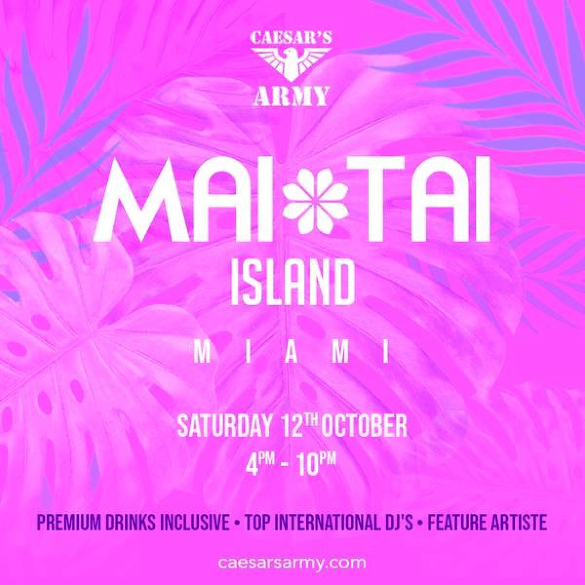 Mai Tai Island flyer or graphic.