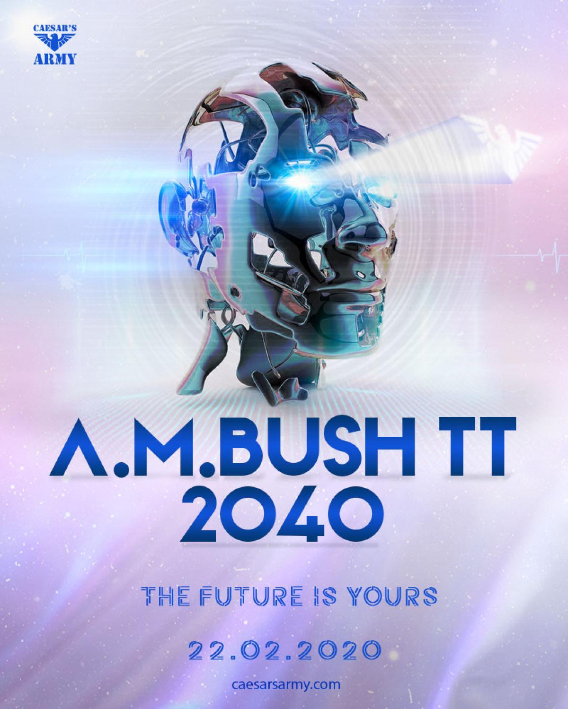A.M.Bush TT 2040 flyer or graphic.