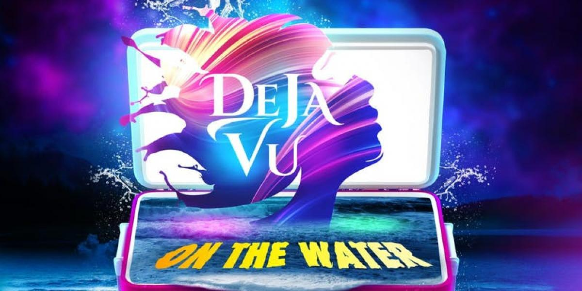 Deja Vu On The Water flyer or graphic.