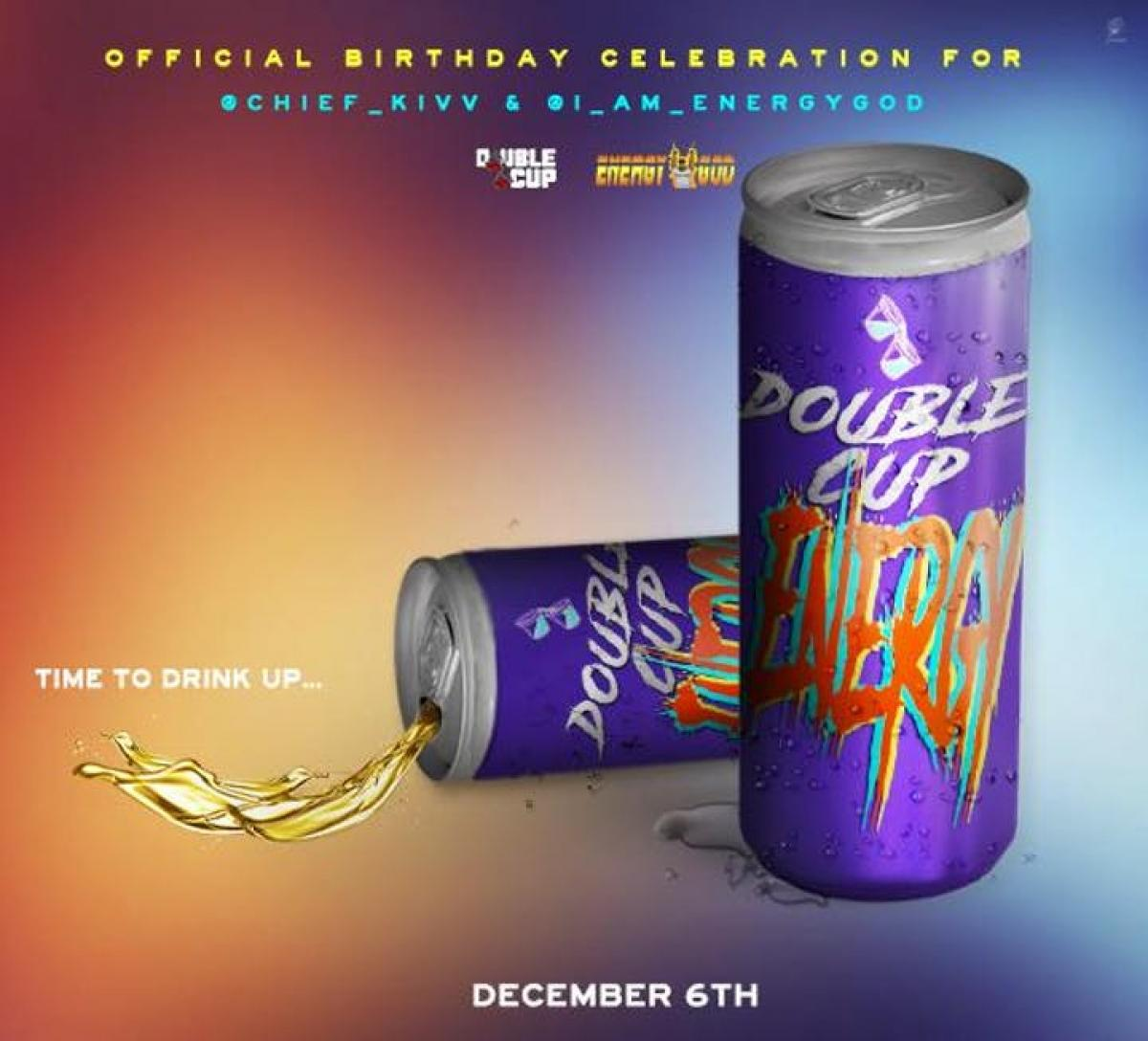 Double Cup Energy flyer or graphic.