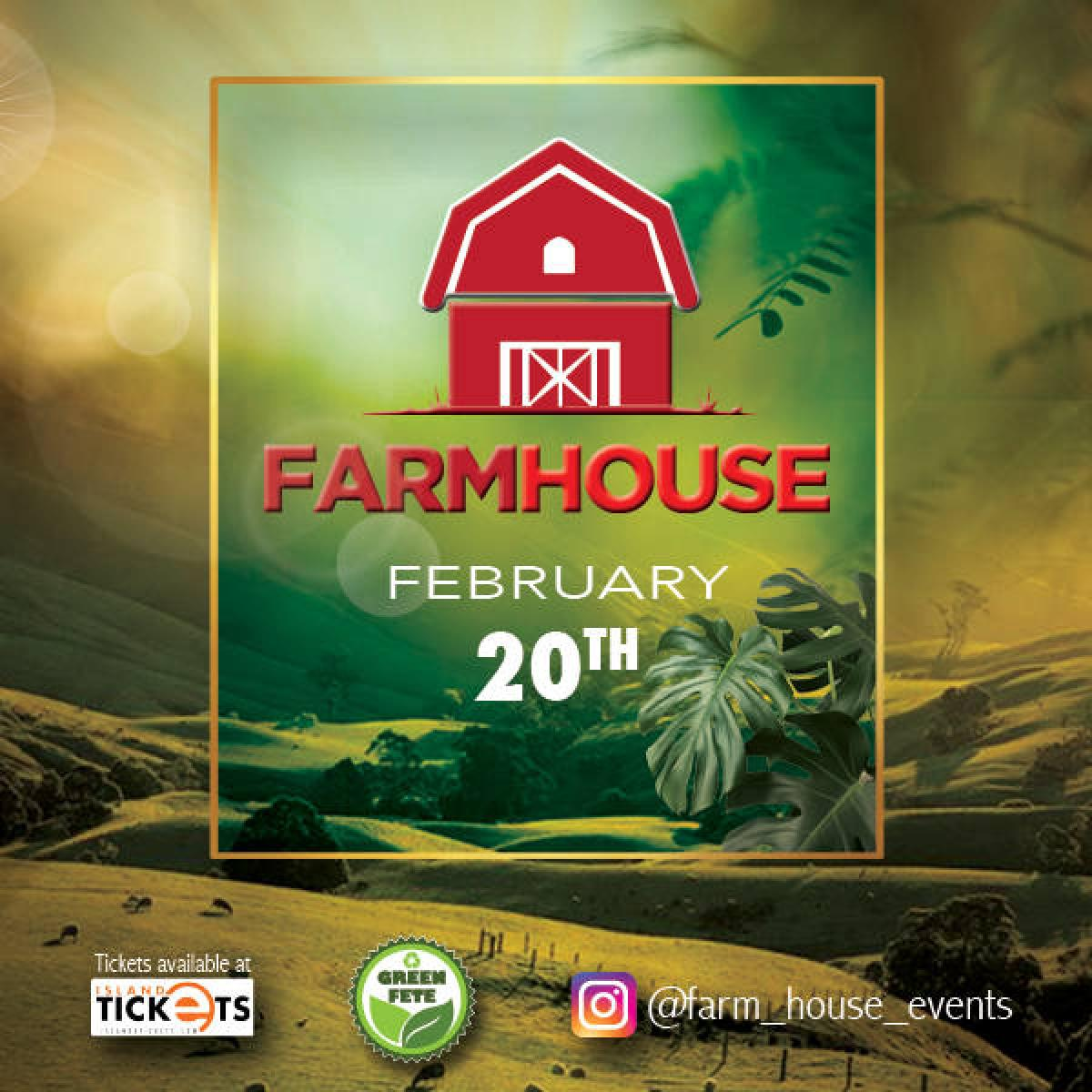 FarmHouse  flyer or graphic.
