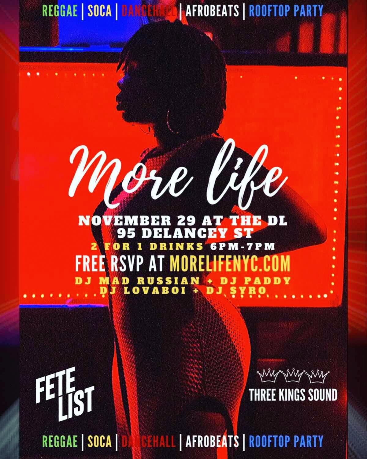 More Life Firebrand Edition flyer or graphic.