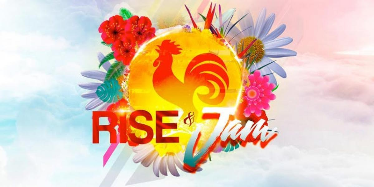 Rise And Jam flyer or graphic.