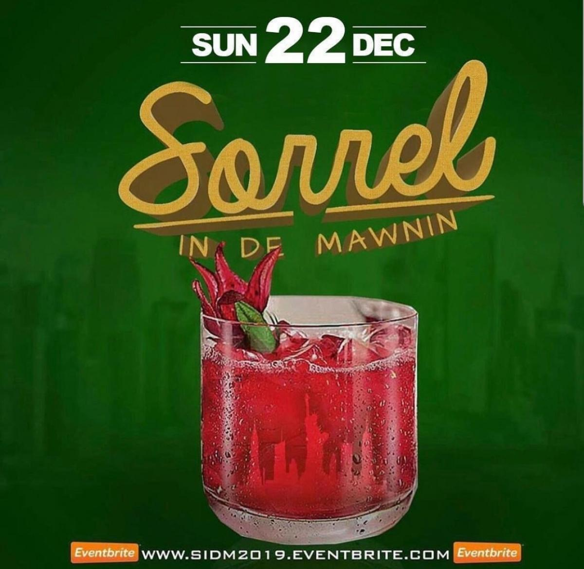 Sorrel In De Mawning flyer or graphic.