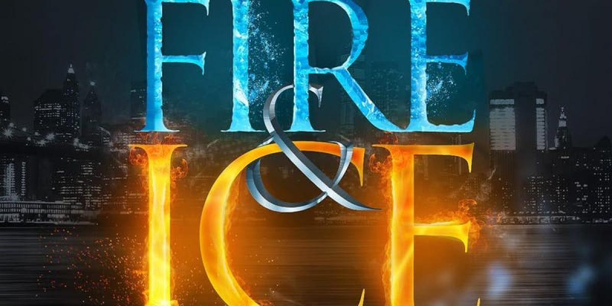 Fire and Ice flyer or graphic.