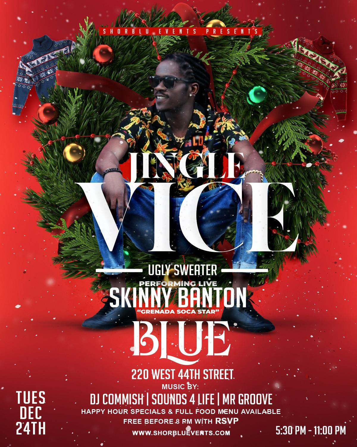 Jingle Vice flyer or graphic.